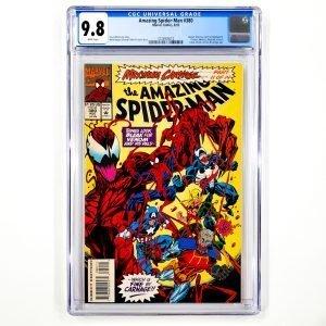 Amazing Spider-Man #380 CGC 9.8 NM/M Front