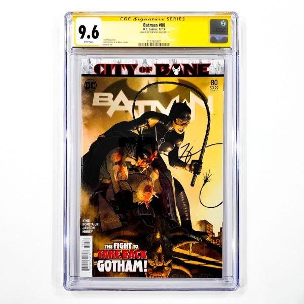 Batman (2016) #80 CGC SS 9.6 NM+ Front