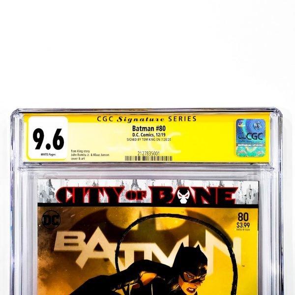 Batman (2016) #80 CGC SS 9.6 NM+ Front Label
