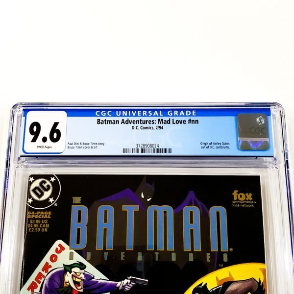 Batman Adventures: Mad Love CGC 9.6 NM+ Front Label