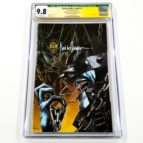 Batman Who Laughs #1 CGC SS 9.8 NM/M Unknown Comics Edition E Front