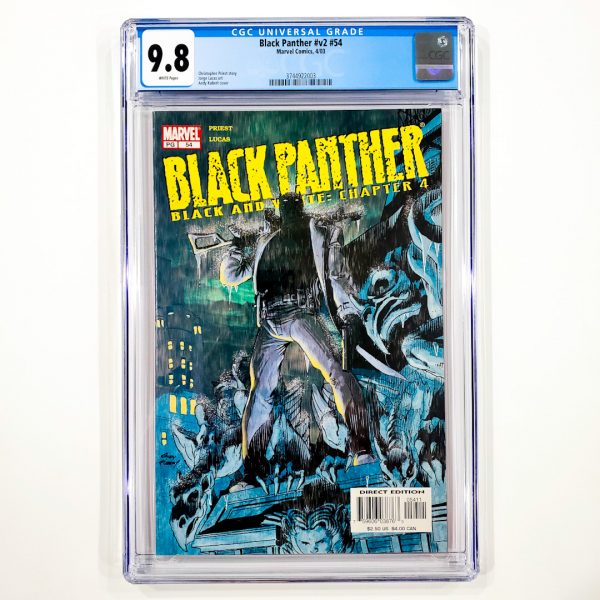 Black Panther (Vol. 2) #54 CGC 9.8 NM/M Front