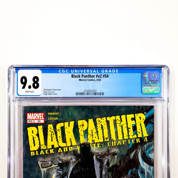 Black Panther (Vol. 2) #54 CGC 9.8 NM/M Front Label