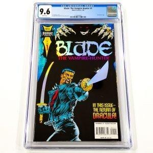 Blade: The Vampire Hunter #1 CGC 9.6 NM+ Front