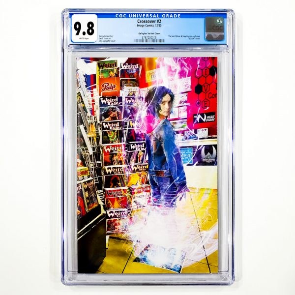 Crossover #2 CGC 9.8 NM/M Gallagher Variant Front