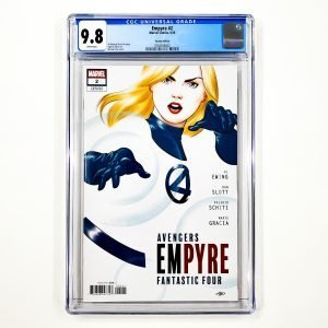 Empyre #2 CGC 9.8 NM/M Cho Variant Front
