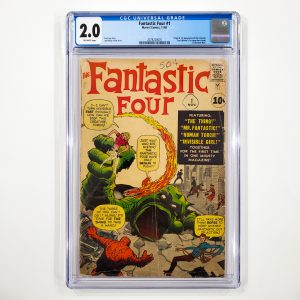 Fantastic Four #1 CGC 2.0 GD Front