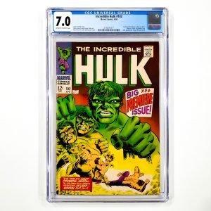 Incredible Hulk #102 CGC 7.0 FN/VF Front