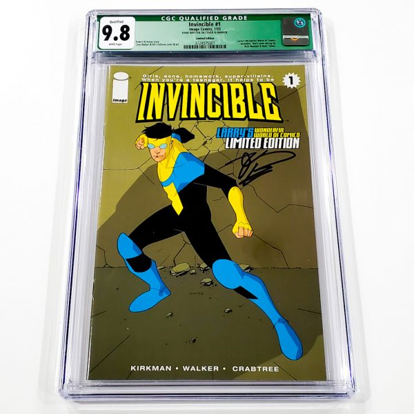 Invincible #1 CGC Q 9.8 NM/M Limited Edition Front