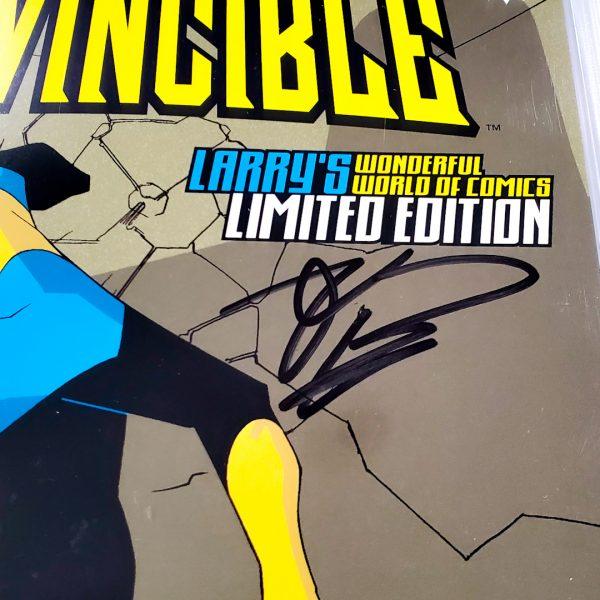 Invincible #1 CGC Q 9.8 NM/M Limited Edition Signature