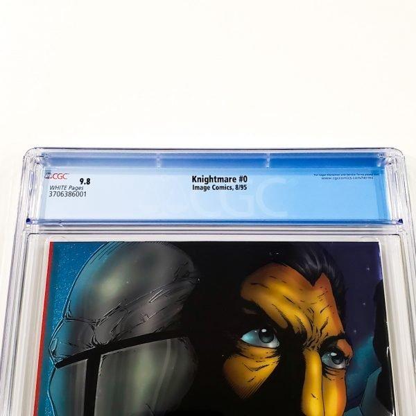 Knightmare #0 CGC 9.8 NM/M Back Label
