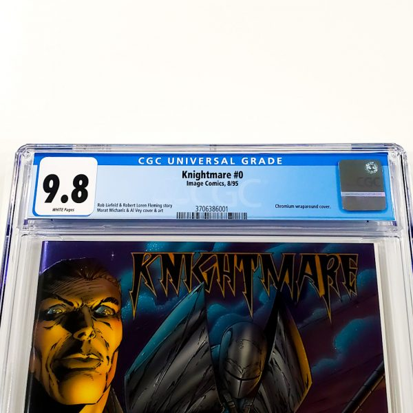 Knightmare #0 CGC 9.8 NM/M Front Label
