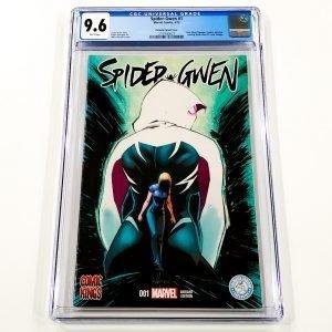 Spider-Gwen #1 CGC 9.6 NM+ Portacio Variant Front