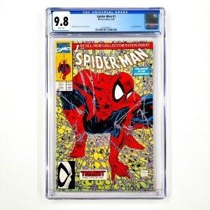 Spider-Man #1 CGC 9.8 NM/M Front