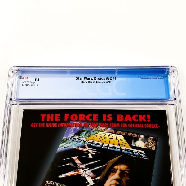 Star Wars: Droids (Vol. 2) #1 CGC 9.8 NM/M Back Label
