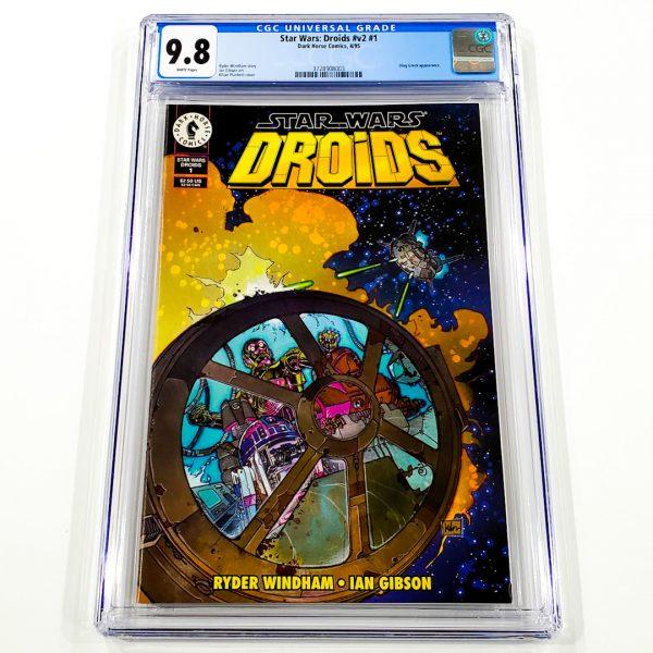 Star Wars: Droids (Vol. 2) #1 CGC 9.8 NM/M Front