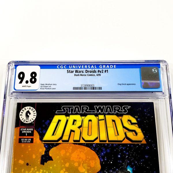 Star Wars: Droids (Vol. 2) #1 CGC 9.8 NM/M Front Label