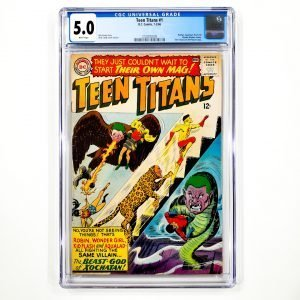Teen Titans #1 CGC 5.0 VG/FN Front