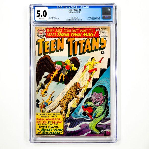 Teen Titans #1 CGC 5.0 VG/FN Front