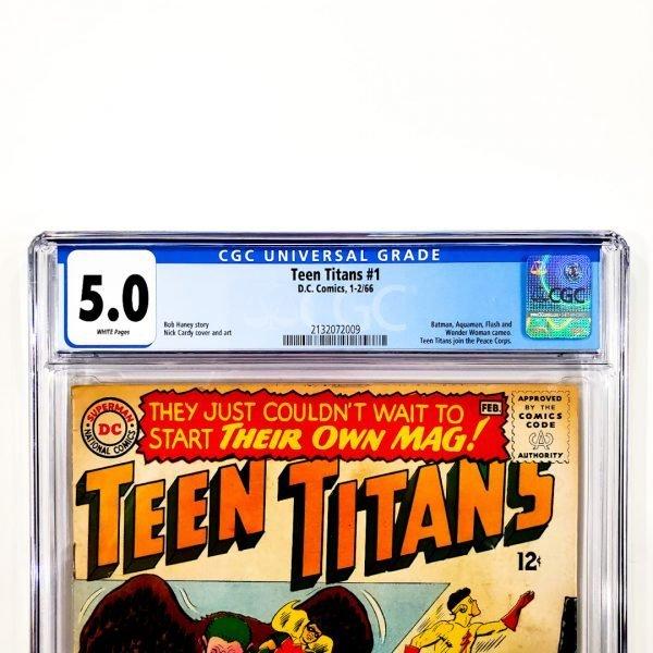 Teen Titans #1 CGC 5.0 VG/FN Front Label