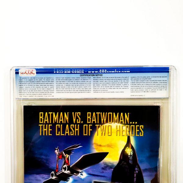 Teen Titans (2003) #4 CGC 9.8 NM/M Back Label