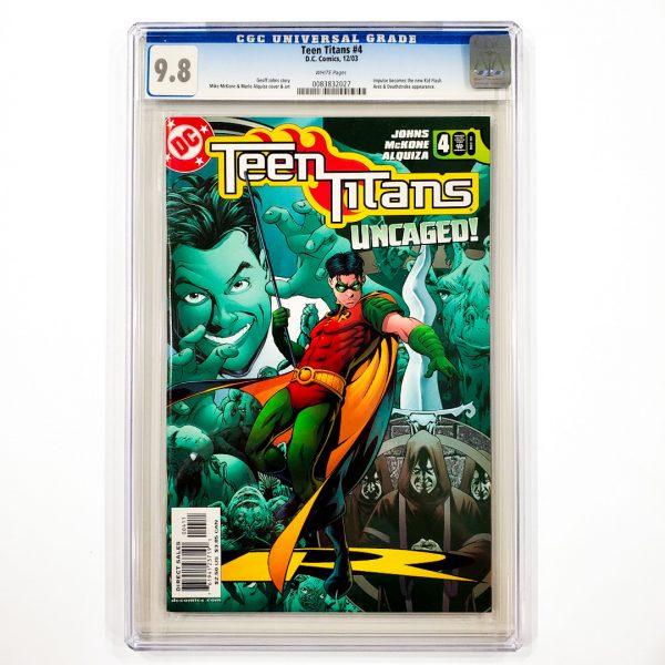 Teen Titans (2003) #4 CGC 9.8 NM/M Front