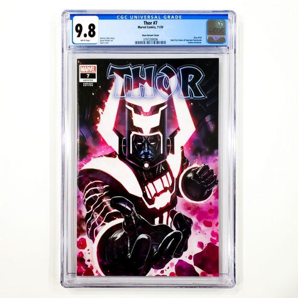 Thor (2020) #7 CGC 9.8 NM/M Skan Variant Front