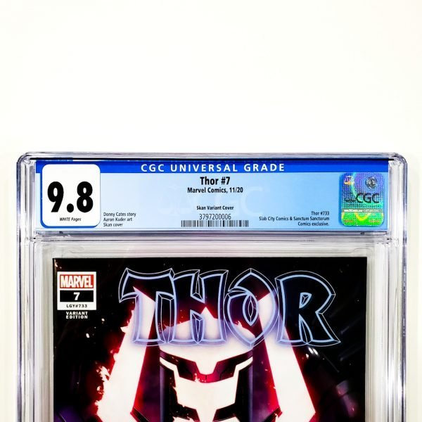 Thor (2020) #7 CGC 9.8 NM/M Skan Variant Front Label