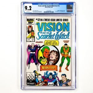 Vision and the Scarlet Witch (Vol. 2) #12 CGC 9.2 NM- Front