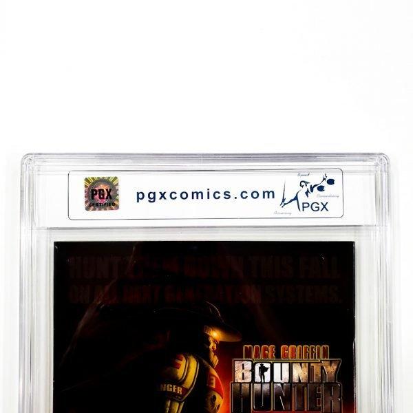 30 Days of Night #1 PGX 9.8 NM/M Back Label