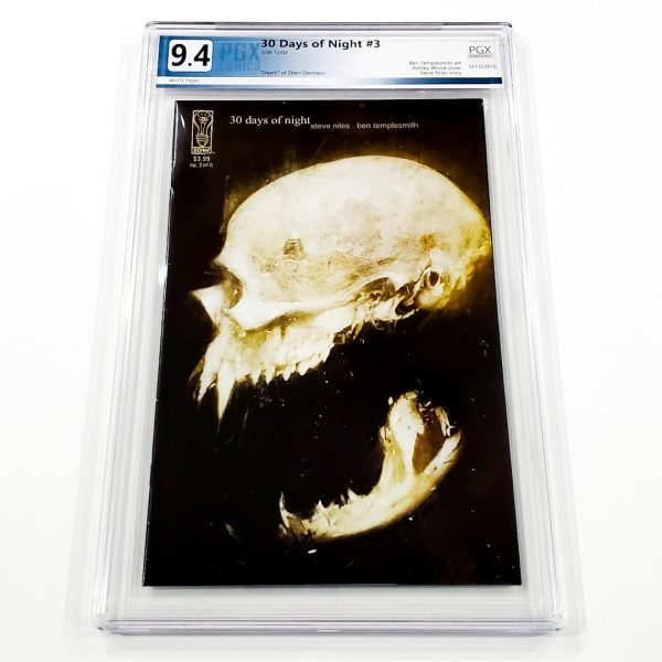 30 Days of Night #3 PGX 9.4 NM Front
