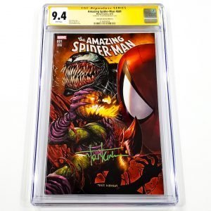 Amazing Spider-Man #801 CGC SS 9.4 NM Unknown Comics Variant A Front