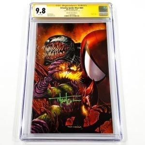 Amazing Spider-Man #801 CGC SS 9.8 NM/M Unknown Comics Variant C Front