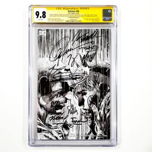 Batman (2016) CGC SS 9.8 NM/M Lee Black & White Edition Front