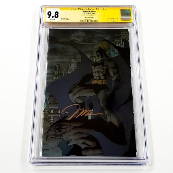 Batman #608 CGC SS 9.8 NM/M Foil Variant Front