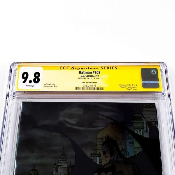 Batman #608 CGC SS 9.8 NM/M Foil Variant Front Label