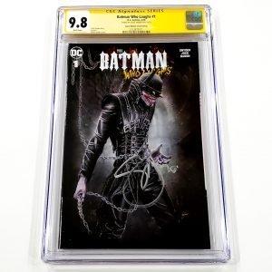 Batman Who Laughs #1 CGC SS 9.8 NM/M Comic Market Street Edition Front