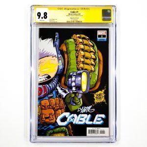 Cable (2020) #1 CGC SS 9.8 NM/M Front