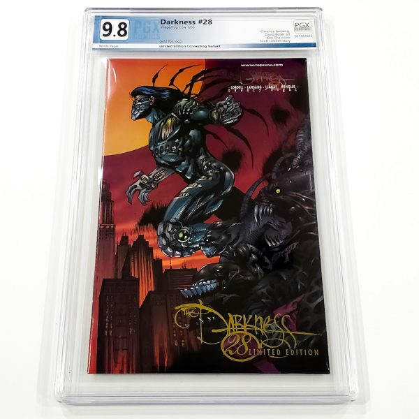 The Darkness #28 PGX 9.8 NM/M Gold Foil Edition Front