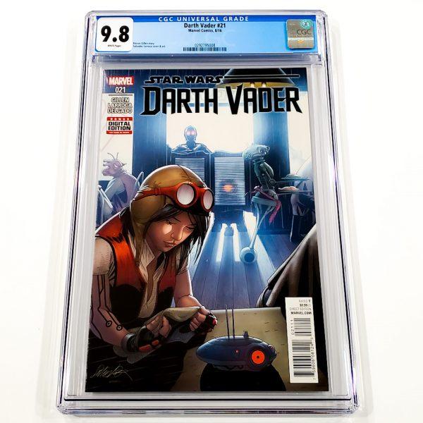 Darth Vader (2015) #21 CGC 9.8 NM/M Front