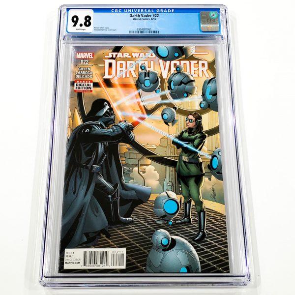 Darth Vader (2015) #22 CGC 9.8 NM/M Front