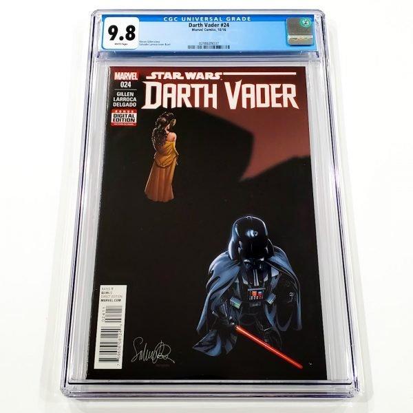 Darth Vader (2015) #24 CGC 9.8 NM/M Front