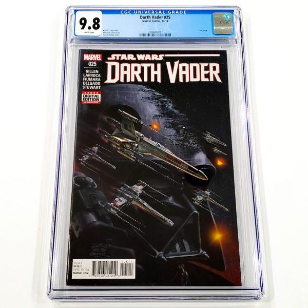 Darth Vader (2015) #25 CGC 9.8 NM/M Front