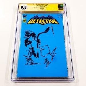 Detective Comics #1027 CGC SS 9.8 NM/M Sketch Variant Front