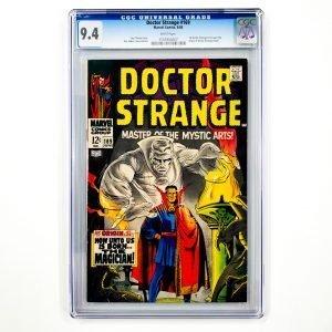 Doctor Strange #169 CGC 9.4 NM Front