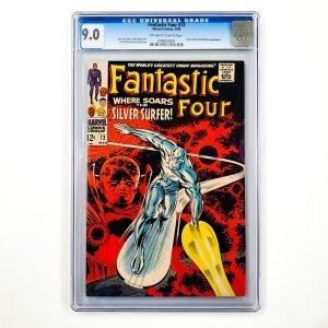 Fantastic Four #72 CGC 9.0 VF/NM Front