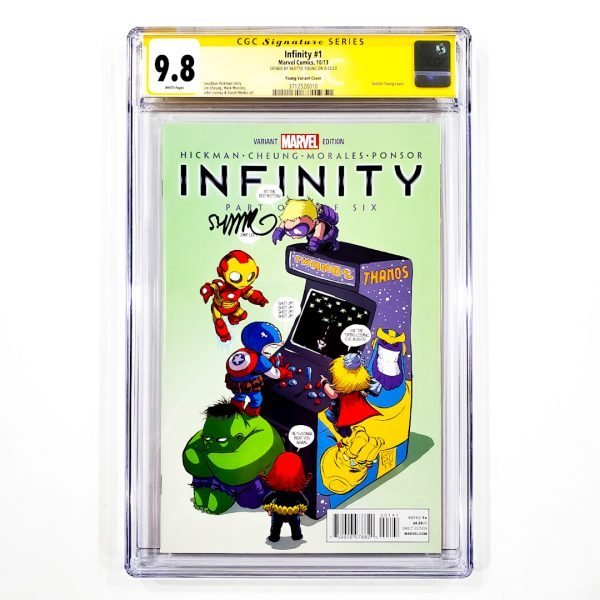 Infinity #1 CGC SS 9.8 NM/M Young Variant Front