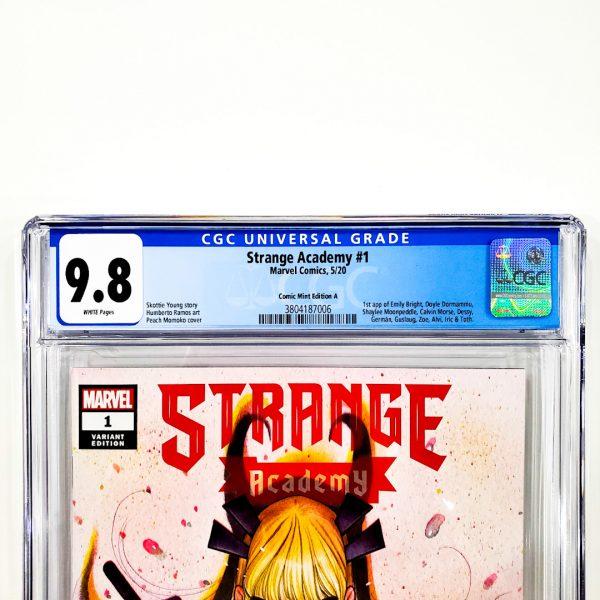 Strange Academy #1 CGC 9.8 NM/M Comic Mint Edition A Front Label