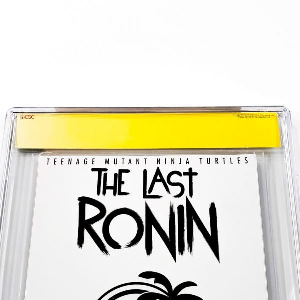 TMNT: The Last Ronin #1 CGC SS 9.8 NM/M Bermudez Variant Back Label