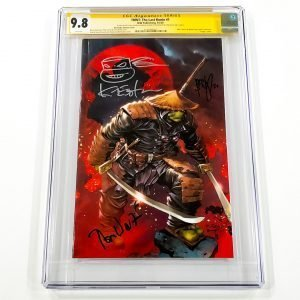 TMNT: The Last Ronin #1 CGC SS 9.8 NM/M Bermudez Variant Front